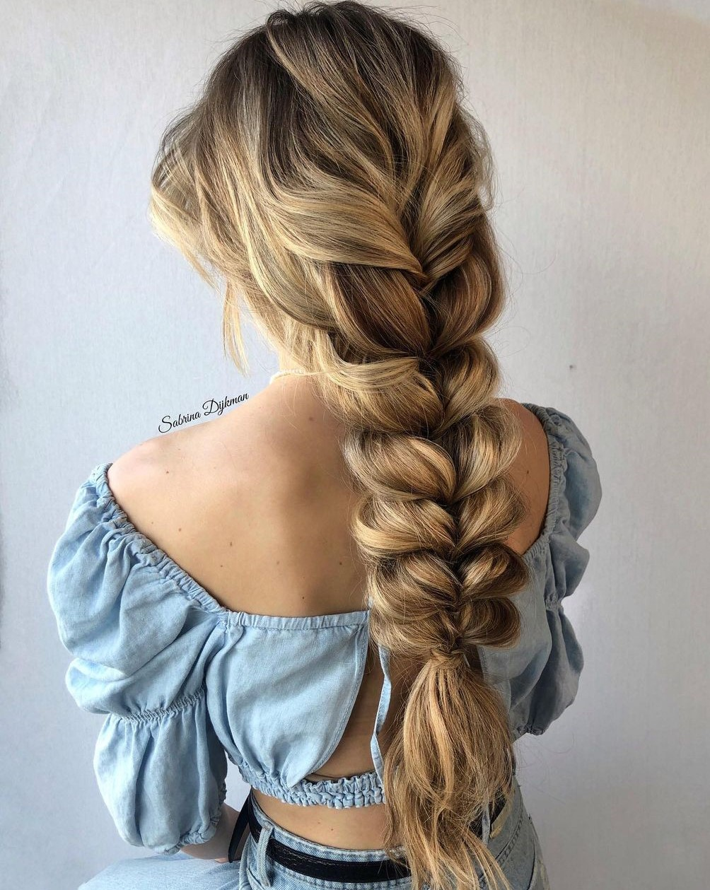 Fast-Braiding Hairstyle for Thick Hair