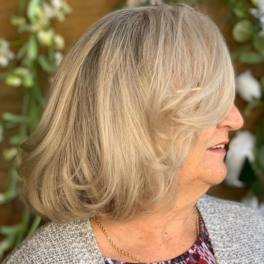 Wispy Lob for Overweight Women Over 60