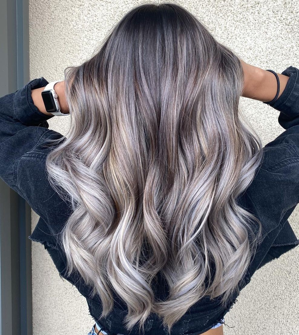 Brown and Gray Highlights