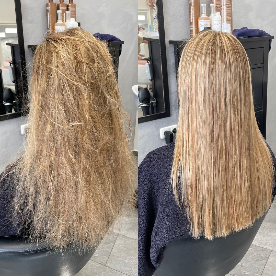 Salon Treatment Before After Photos
