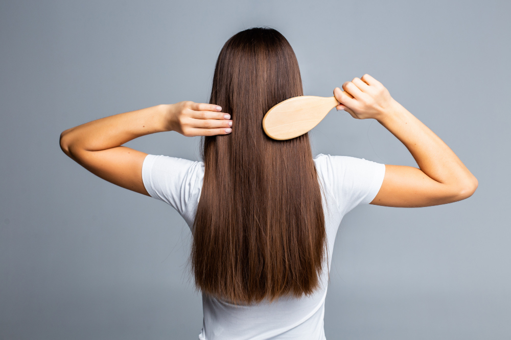 Hair Routine Before Going to Bed for Women with Long Hair