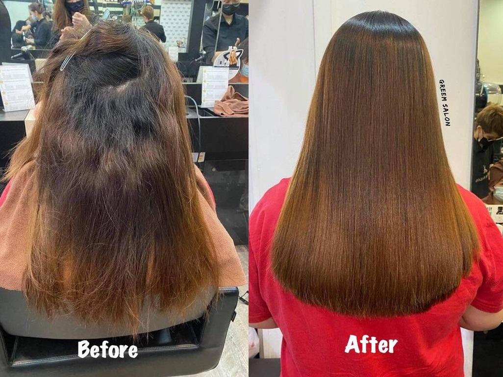 Rebonding Salon Hair Treatment