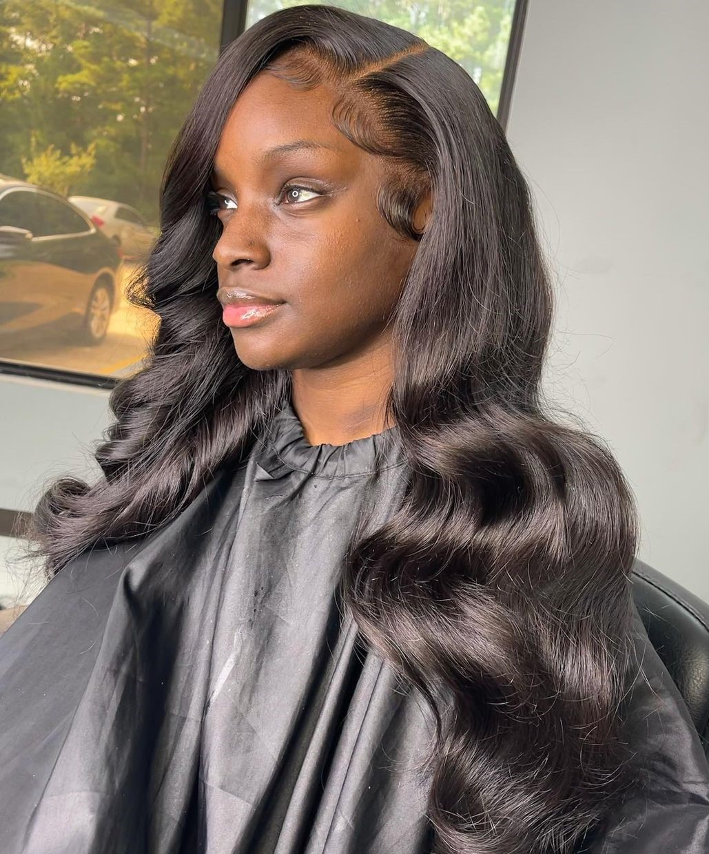 Long Loose Hair Sew In