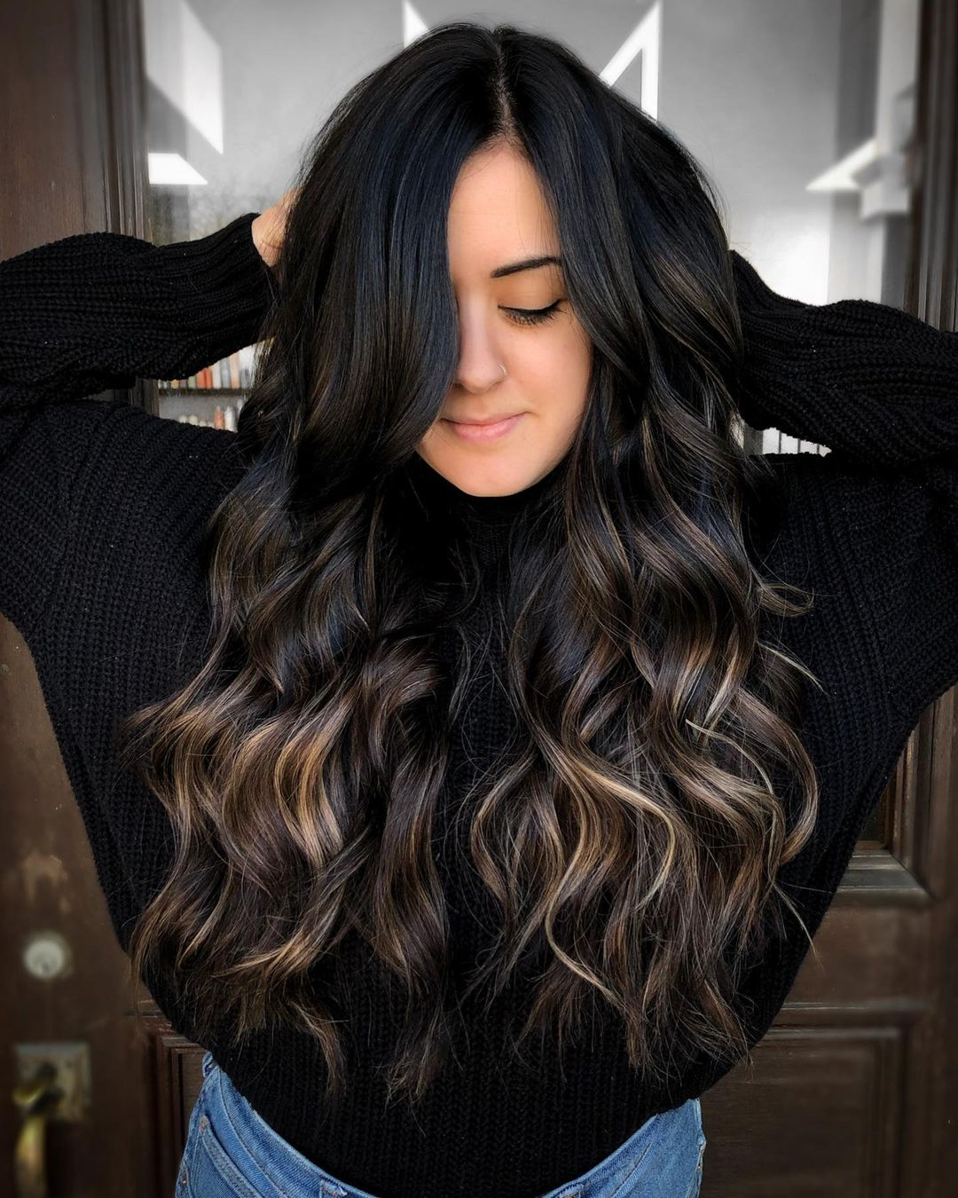 How to Make Your Black Hair Color Shiny and Glossy