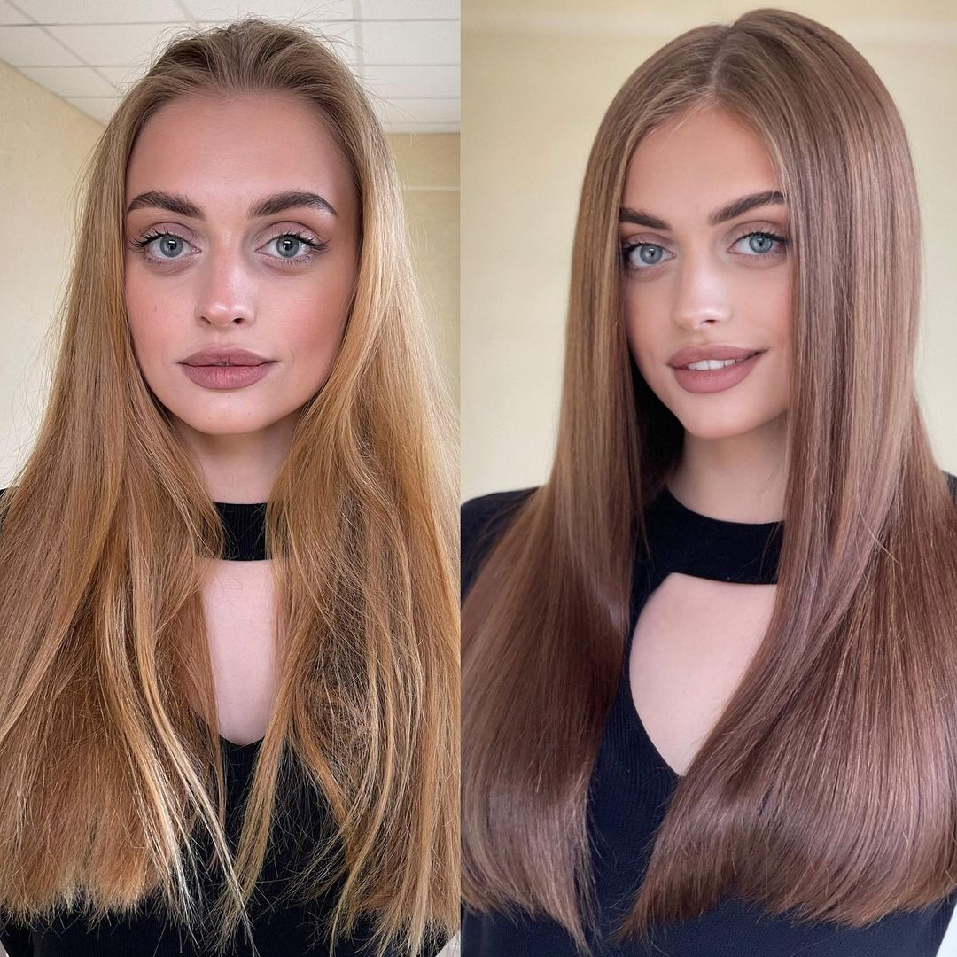 How to Make Damaged Dry Dyed Hair Shiny Again
