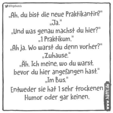 Trockener Humor Witz Trockener Humor 2020 04 20