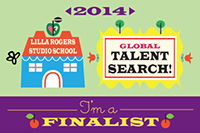 I´m a finalist of the Global talent search!