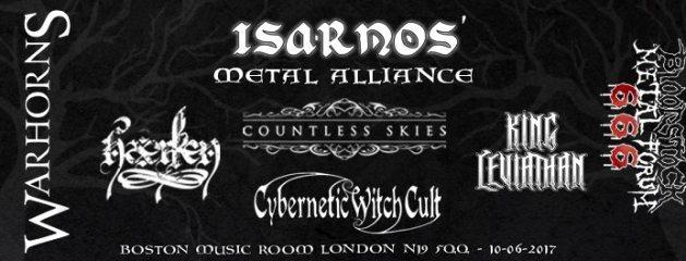 London – 10/06/17 – Isarnos\' Metal Alliance