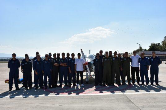 Άφιξη Νέου Εκπαιδευτικού Αεροσκάφους (P-2002JF) Σταδίου Επιλογής της ΠΑ