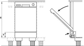 ferrure de pliage de facade pour lave