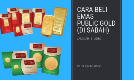Cara beli emas di sabah