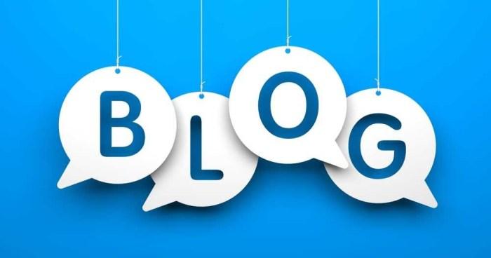 cara tulis blog
