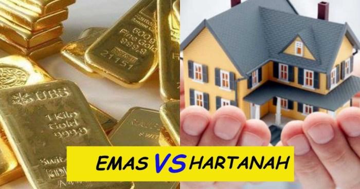 emas dan hartanah