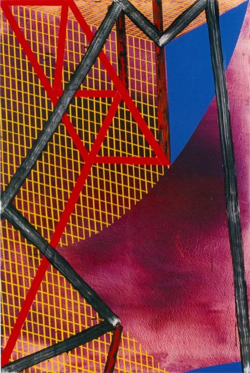 S/T. Acrílico y óleo sobre lienzo, 195x114. 1999.