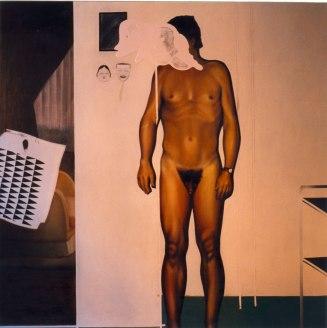 Desnudo. Óleo sobre lienzo, 180x200. 1996.
