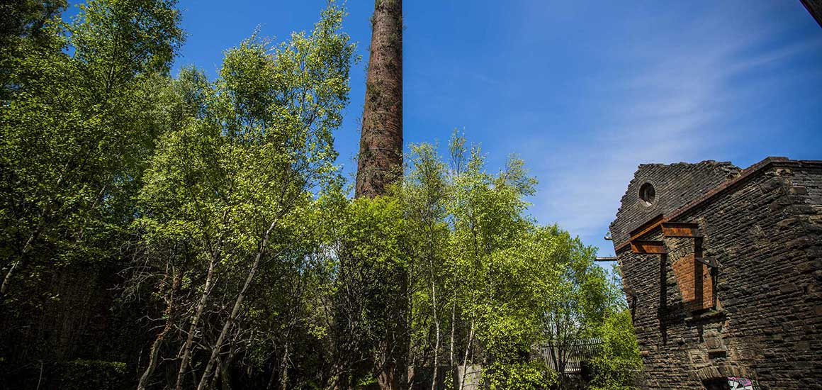 Hafod Morfa Copperworks Swansea Chimney