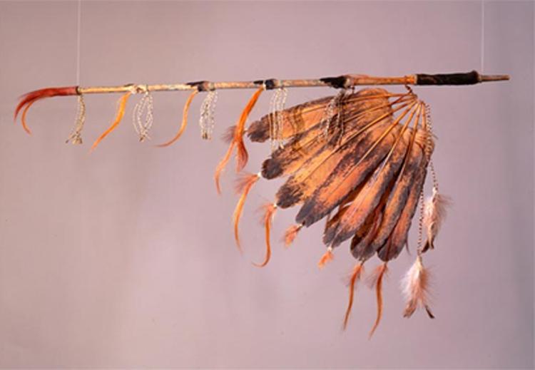 الأنابيب التي كان يستعملها الأمريكيون الأصليون في التدخين خلال المناسبات والاحتفالات