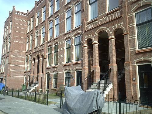 klassieke nieuwbouw in de Obrechtstraat