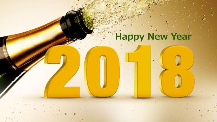 Kumpulan gambar bergerak ucapan selamat tahun baru 2018