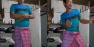 Video Abel Spoetra shalat sambil joget-jeget ini bikin netizen berkata kasar