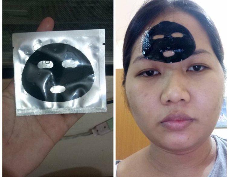 Wanita ini beli masker wajah secara online, saat dipakai jadinya malah begini
