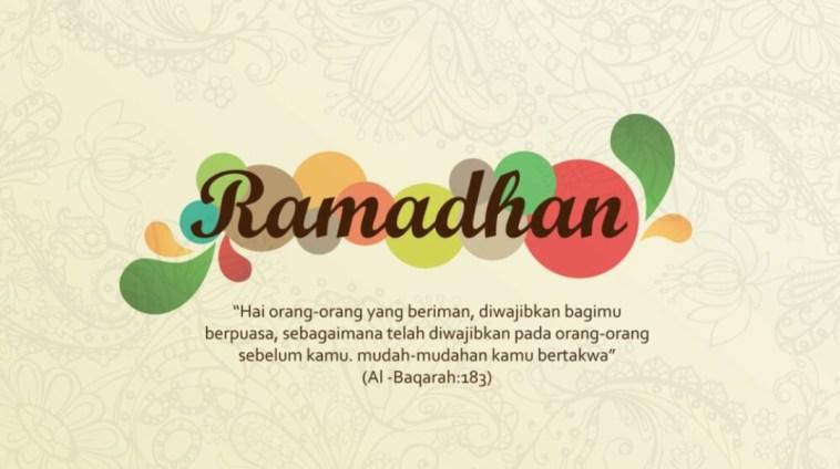 Kumpulan kata ucapan Ramadhan 2018, marhaban ya syahru shiyam!
