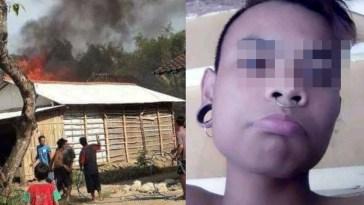 Nekat bakar rumah orangtua karena tidak dibelikan HP, remaja pria ini minta maaf sambil berderai air mata