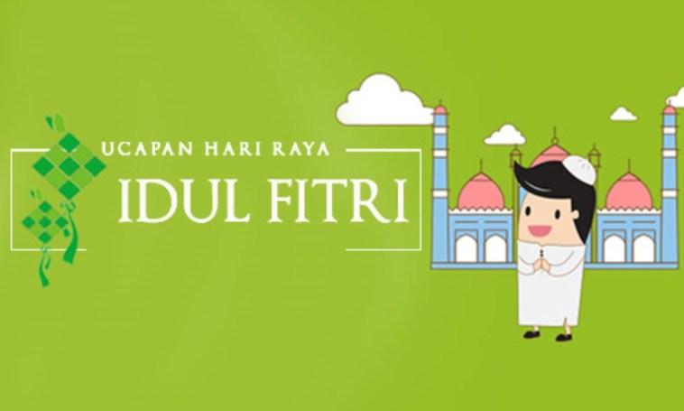 Kata-kata ucapan selamat lebaran Idul Fitri, minal aidin wal faizin