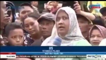 Ceritakan kronologi ledakan bom di Pasuruan, gaya bicara ibu ini bikin galfok, saya kira ban mbeledos!