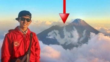 Foto di puncak Gunung Merbabu, pendaki ini abadikan momen langka, postingannya viral!
