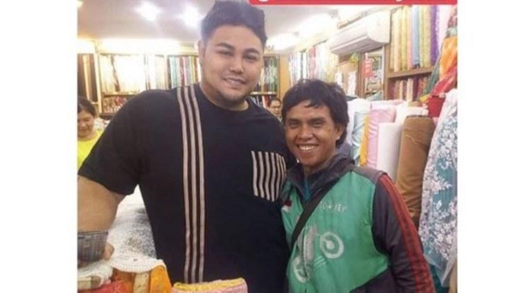 Ketemu artis di Pasar Baru, driver ojol ini sebut Ivan Gunawan suami Ayu Ting Ting, kapan nikahnya?