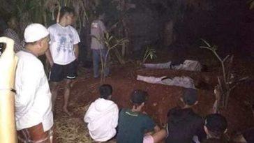 Pura-pura jadi pocong untuk menakuti warga, dua pemuda ini dapet hukuman tidur di kuburan