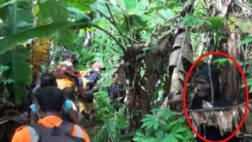 Sosok misterius terekam kamera tim penjelajah saat lintasi hutan Halmahera, videonya viral
