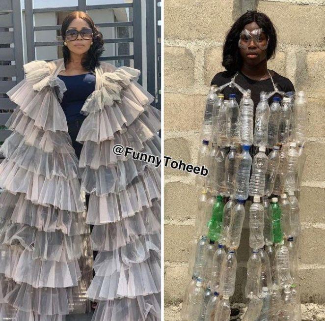 Gaya fashion lucu selebritis