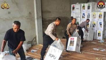 Kelelahan saat bertugas mengamankan pemilu 2019, 4 Polisi ini meninggal dunia