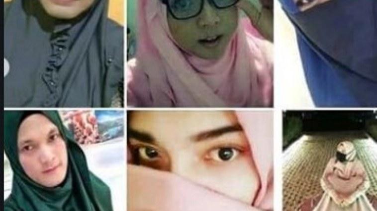 Cross hijaber bikin geger, cowok pakai cadar ini resahkan kaum wanita