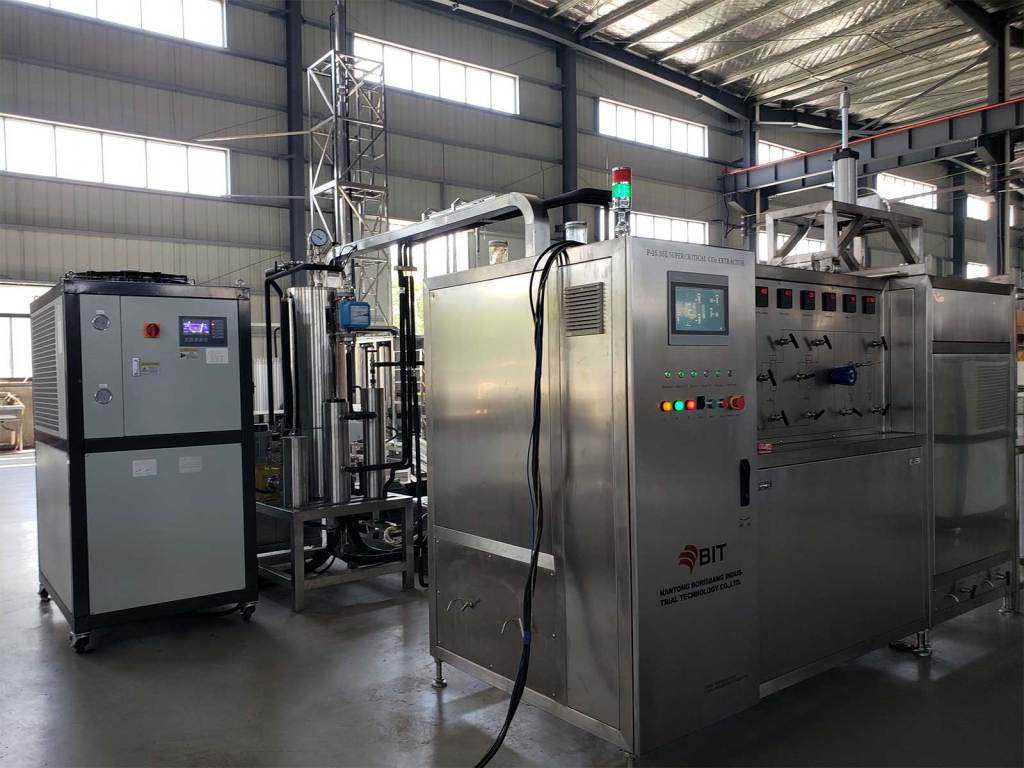 Astaxanthin supercritical co2 extraction machine