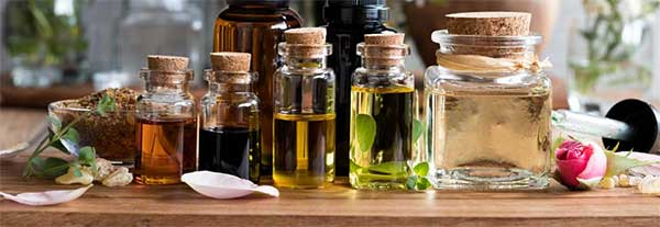 Supercritical CO2 extraction of essential oils