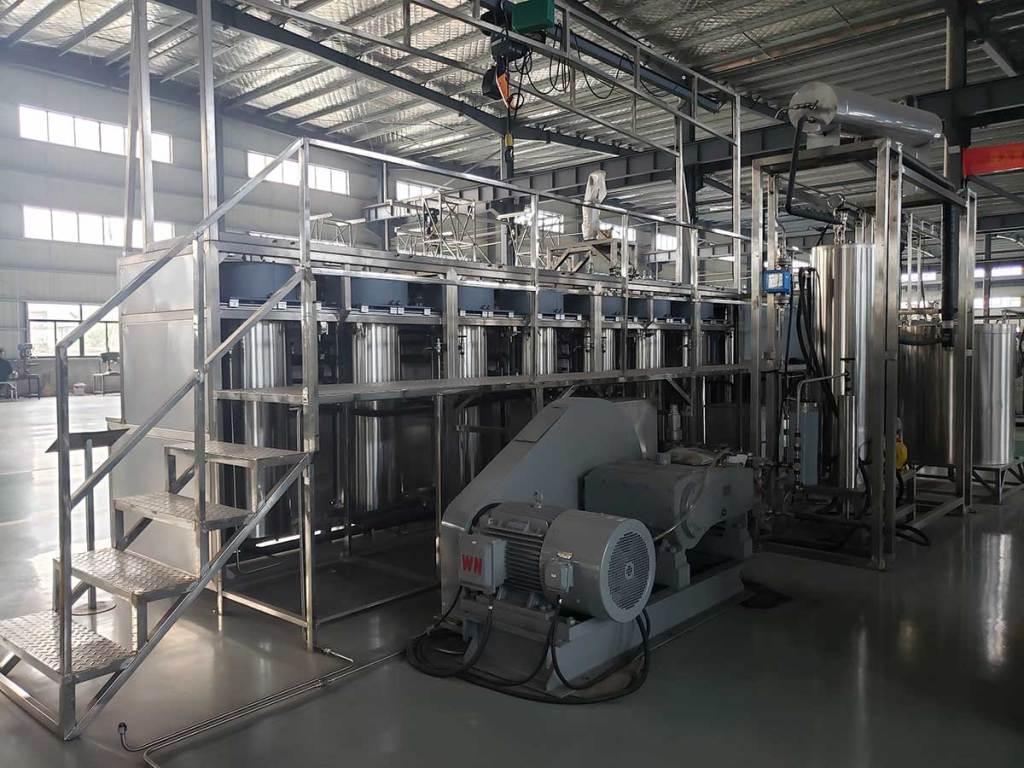 300L 50L×6 Supercritical CO2 Extraction Equipment