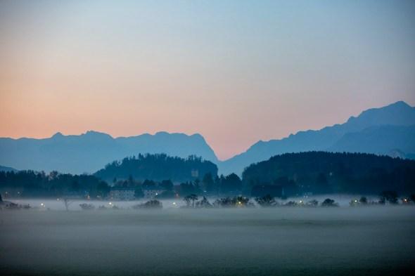 Hagen-und Tennengebirge am Morgen
