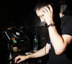 Tim DJing