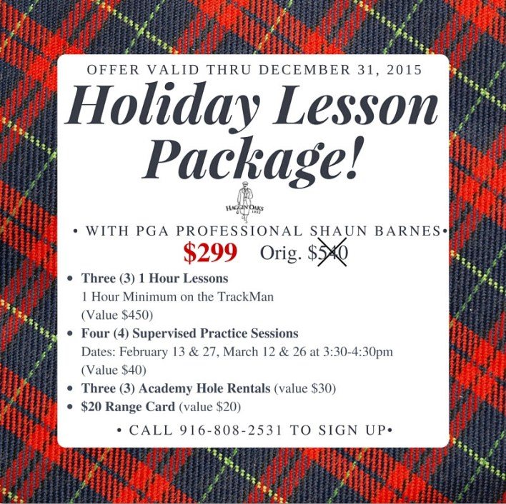Shaun Barnes Holiday Lesson Package