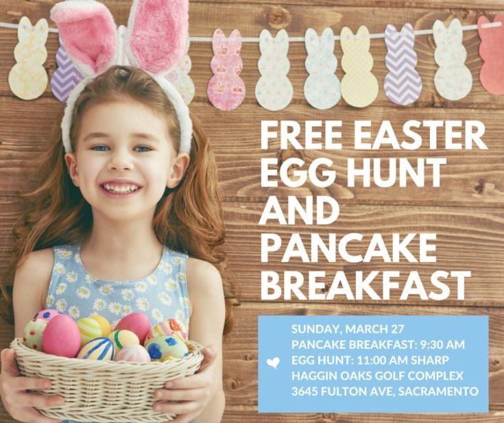 FREE EASTER EGG HUNT AND PANCAKE BREAKFAST