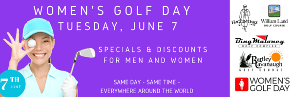 WOMEN'S GOLF DAY banner