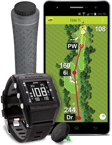 SkyGolf SkyCaddie Linx GT Watch - Game Tracking Edition