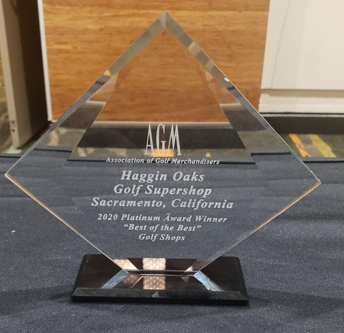 Haggin Oaks Golf Super Shop - 2020 Platinum Award Winner Best of the Best Golf Shop