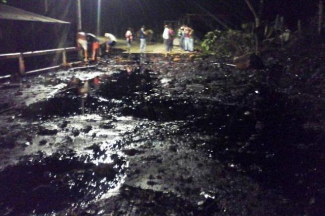 atentado del ELN al Oleoducto Caño Limón Coveñas