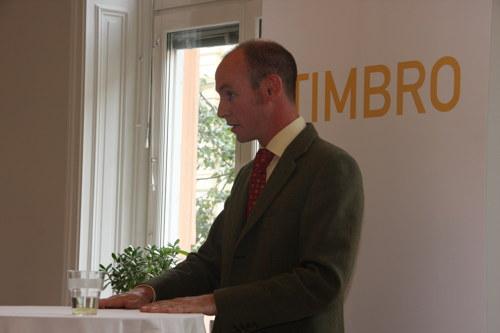 Daniel Hannan i talartagen