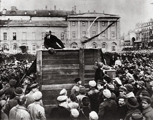 lenin utan Trotskij