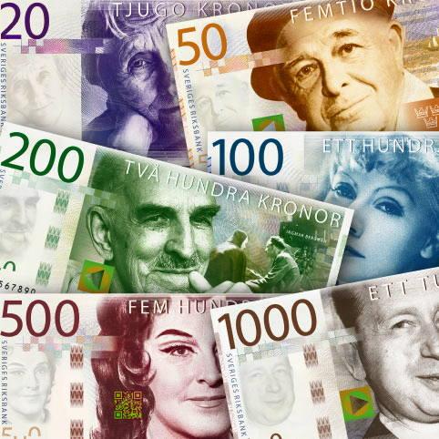 preliminärt utseende på nya sedlarna